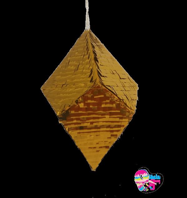 Piñata diamante dorado