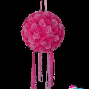 Piñata esfera de flores