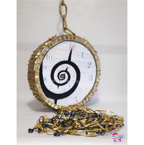 Piñata de reloj de Alicia en el país de las maravillas